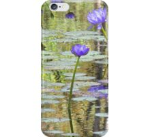 Water Lilies at Cape River iPhone Case/Skin