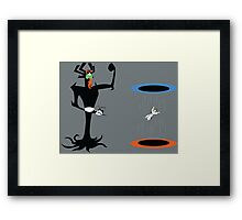 A Portal In Time Framed Print