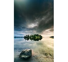 Serenity by dawn II Photographic Print
