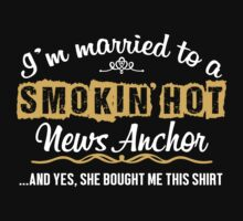 Funny News Anchor T-shirt by musthavetshirts