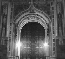 Rosary Cathedral by Latrelle