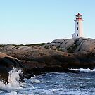 Lighthouse - Peggy Cove by Tim Yuan