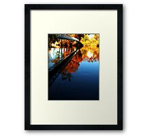 0530 - HDR Panorama - Walking Bridge Framed Print