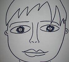 Portrait of Boyfriend by arfa