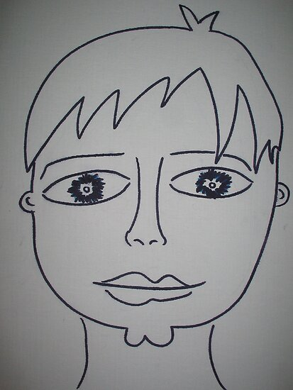 Portrait of Boyfriend by arfa