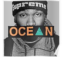 Ocean - Frank Poster