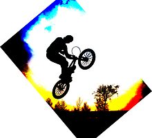 BMX Silhouette by Richard Edwards