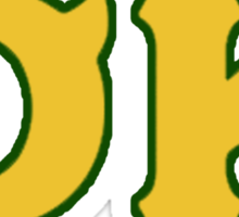 Oozma Kappa - monsters university frat  Sticker
