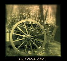 RED RIVER CART  by Madeline M  Allen