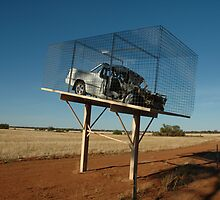 Caged Ute by muz2142