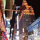 Times Square At Night by JonM