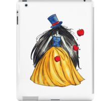 Who is the mad hatter ? Snow White | Blanche Neige  iPad Case/Skin