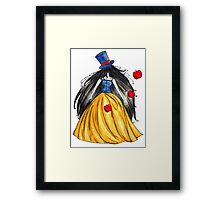 Who is the mad hatter ? Snow White | Blanche Neige  Framed Print