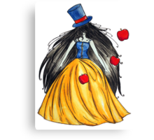 Who is the mad hatter ? Snow White | Blanche Neige  Canvas Print