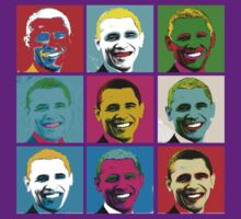 Obama Warhol Pop Art by midniteoil