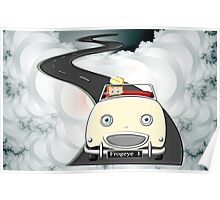 A Boys Dream to be a Racing Driver - all products bar duvet Poster