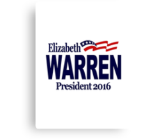 Warren 2016 Canvas Print