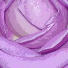 A  purple rose by eeek