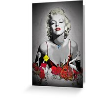 MARILYN_BLACK Greeting Card