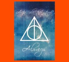 Harry Potter Deathly Hallows Always Kids Clothes