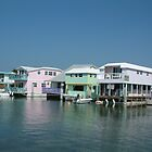 Key West House Boat Row by Cayobo