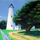 Ocracoke Lighthouse by Jim Phillips