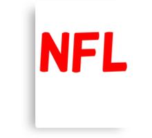 NFL  Canvas Print