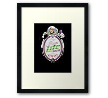 Buzz Lite Beer Framed Print