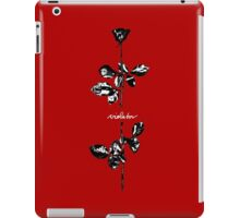 Depeche Mode : Violator Paint LP -Black & White- iPad Case/Skin