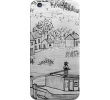 An Ancient Scene on the Danube - all products bar duvet iPhone Case/Skin