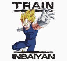 Train insaiyan - Vegeta Flash by BeastStudios