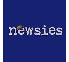 Newsies w/ Cap Photographic Print