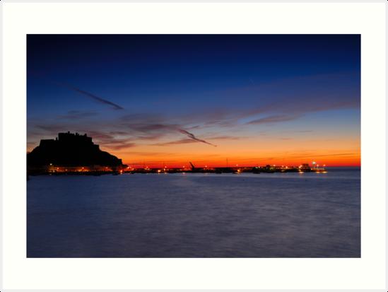 Castle Sunrise by Mark Bowden