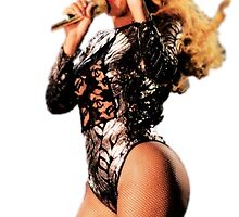 "Beyonce ""Queen Bey"" Tumblr Transparent by jamiehamay"
