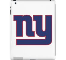 New York Giants iPad Case/Skin