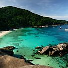 Koh Similan Viewpoint by Robert Mullner