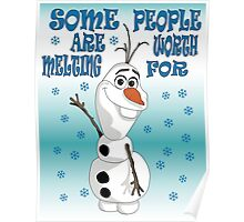 Olaf - Frozen Poster