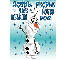 Olaf - Frozen Photographic Print