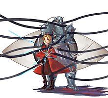 Fullmetal Alchemist by yiamstuff