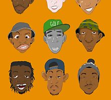 Odd Future Heads by Franjolos