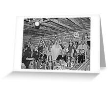 Tin Foil Hat Gathering Greeting Card