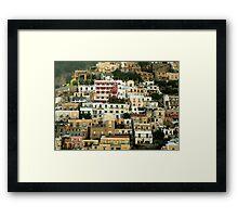 Positano Framed Print