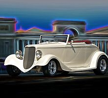 1933 Ford Cabriolet II by DaveKoontz