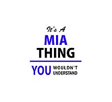 It's a MIA thing, you wouldn't understand !! by thenamer