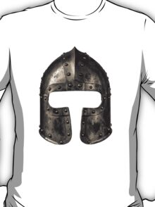 Medieval Armour Helmet T-Shirt