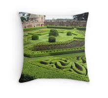 Edzell Castle Garden Throw Pillow