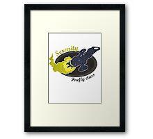 Serenity - Firefly Class Framed Print