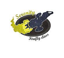 Serenity - Firefly Class Photographic Print