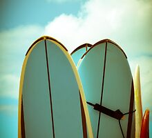 Vintage Surf Boards by mrdoomits