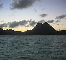 Tahitian Sunrise by ajtaber